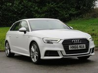 USED 2016 66 AUDI A3 1.4 TFSI S LINE 5d 148 BHP FULL AUDI HISTORY - 5 STAMPS!