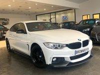 USED 2014 64 BMW 4 SERIES 2.0 420D M SPORT GRAN COUPE 4d 181 BHP BM PERFORMANCE STYLING+6.9%APR