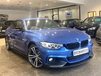 2015 BMW 4 SERIES GRAN COUPE 3.0 435D XDRIVE M SPORT GRAN COUPE 4d 309 BHP £20990.00