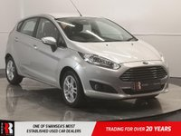 USED 2016 65 FORD FIESTA 1.0 ZETEC 5d 99 BHP 1 OWNER FROM NEW