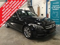 """USED 2015 15 MERCEDES-BENZ C CLASS 2.1 C220 BLUETEC SPORT PREMIUM 4d 170 BHP £20 Road Tax, Full Service History, Heated Leather Seats, Power and Memory Front Seats, Satellite Navigation, Panoramic Tilt and Slide Sunroof, Bluetooth Phone and Media, FR+RR Parking Sensors with RR Camera, Comfort Access, Cruise Control with Speed Limiter, Power Tailgate, Power Folding Mirrors, Auto Lights and Wipers, DAB Radio, Internet Ready, 17"""" Alloys"""
