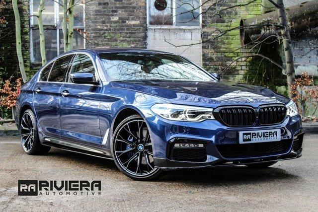 2017 17 BMW 5 SERIES 3.0 530D XDRIVE M SPORT 4d 261 BHP