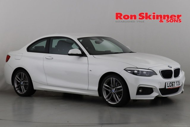 View our 2017 67 BMW 2 SERIES 1.5 218I M SPORT 2d 134 BHP