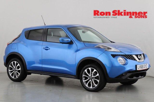 View our 2018 68 NISSAN JUKE 1.6 TEKNA XTRONIC 5d AUTO 112 BHP