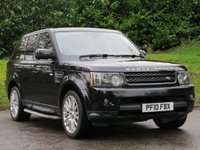 USED 2010 10 LAND ROVER RANGE ROVER SPORT 3.0 TDV6 HSE 5d 245 BHP FINANCE FOR JUST £200 A MONTH!