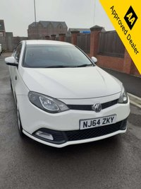 2014 MG 6 1.8 S GT DTI 5d 150 BHP IN METALLIC WHITE WITH FULL SERVICE HISTORY, 70800 MILES, 1 OWNER AND A GREAT SPEC £3699.00