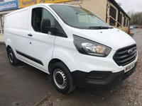 USED 2018 68 FORD TRANSIT CUSTOM 300 105PS L1 SWB **NEWSHAPE**VERY LOW MILES**