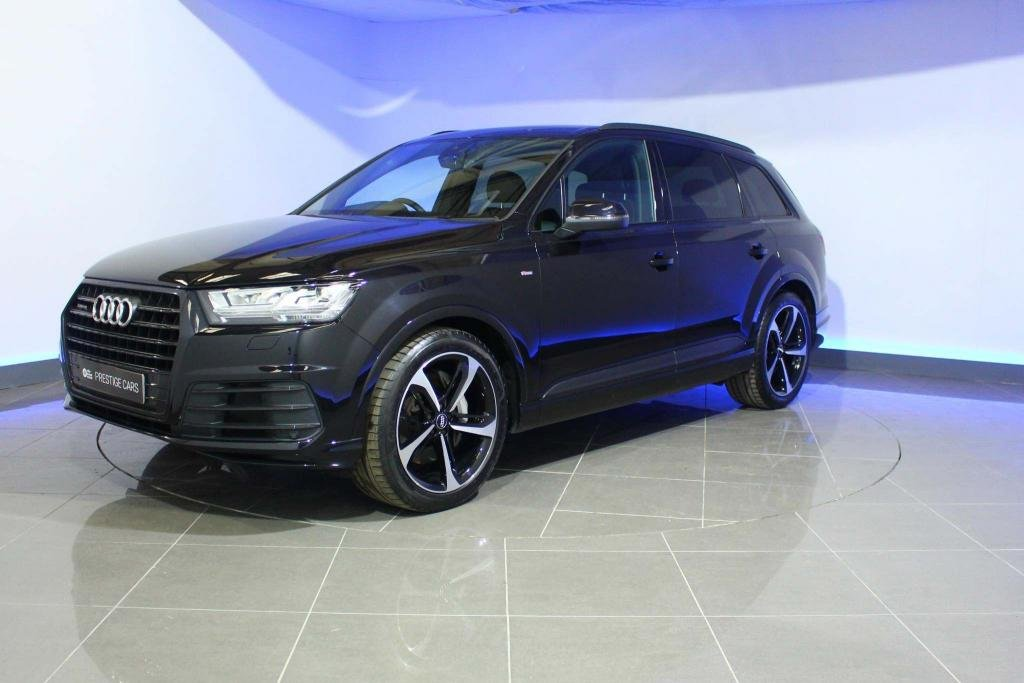 USED 2018 68 AUDI Q7 3.0 TDI V6 50 Black Edition quattro Tiptronic 5dr SAT NAV PAN ROOF HEATED SEATS