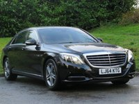 2014 MERCEDES-BENZ S CLASS 3.5 S400 HYBRID L SE LINE EXECUTIVE 4d 306 BHP £29990.00