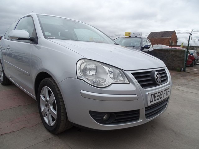 USED 2009 59 VOLKSWAGEN POLO 1.2 MATCH 3d GOOD LOW MILES MINT