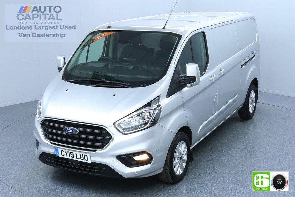 USED 2019 19 FORD TRANSIT CUSTOM 2.0 300 LIMITED L2 H1 130 BHP EURO 6 ENGINE AIR CON | PARKING SENSORS | ALLOY WHEELS