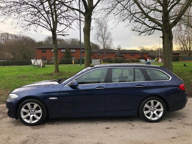 USED 2010 60 BMW 5 SERIES 3.0 525D SE TOURING 5d 202 BHP ESTATE AUTOMATIC ALLOY WHEELS, CRUISE CONTROL, CLIMATE CONTROL, ELECTRIC WINDOWS, ELECTRIC DOOR MIRRORS
