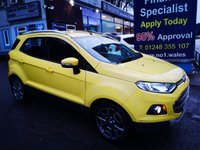 2016 FORD ECOSPORT 1.5 TITANIUM TDCI 5d 94 BHP, only 27000 miles, 2 Owners £8495.00