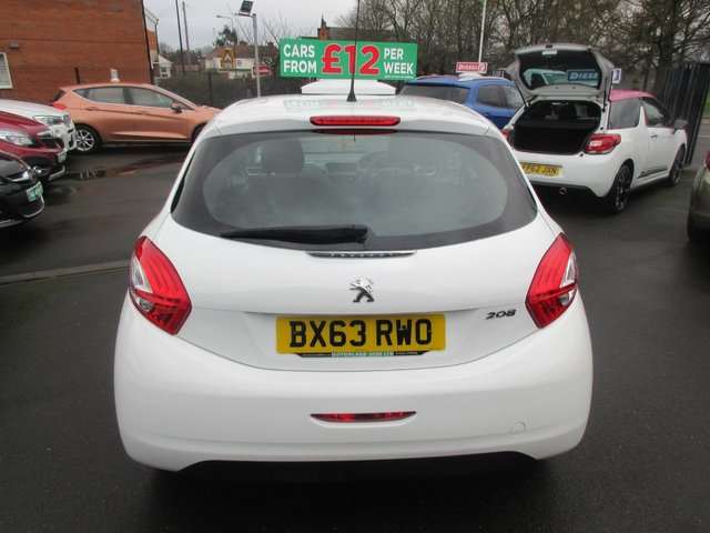 USED 2013 63 PEUGEOT 208 1.2 ACCESS PLUS 3d 82 BHP CALL 01543 379066... 12 MONTHS MOT... 6 MONTHS WARRANTY... FULL HISTORY... JUST ARRIVED