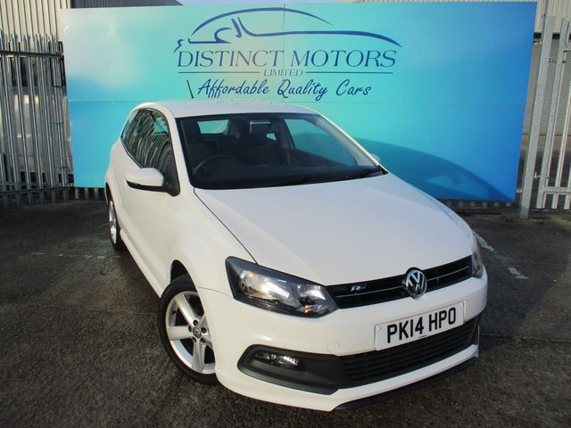 USED 2014 14 VOLKSWAGEN POLO 1.2 R-LINE STYLE 3d 60 BHP