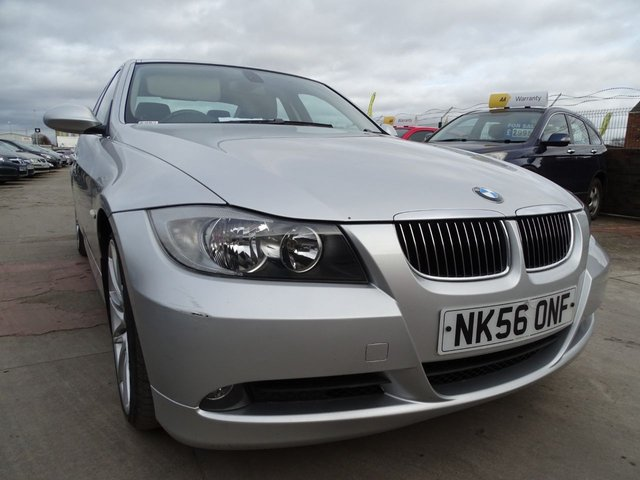 USED 2006 56 BMW 3 SERIES 2.5 325I SE 4d 215 BHP AUTOMATIC DRIVES A1