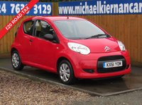 USED 2011 61 CITROEN C1 1.0 VTR 3d 68 BHP FSH, FREE TAX AIR CON