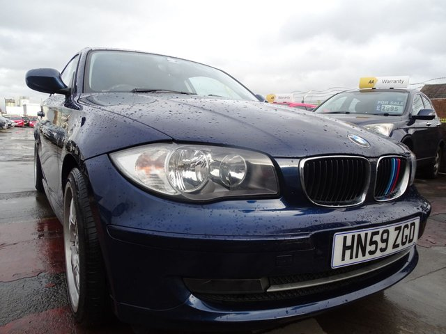 USED 2009 59 BMW 1 SERIES 2.0 116I SPORT 3d 121 BHP CLEAN ALL ROUND