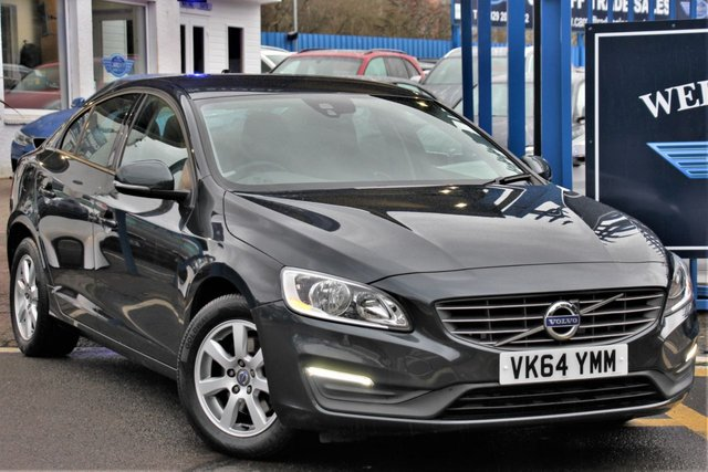 2014 64 VOLVO S60 2.0 D4 BUSINESS EDITION 4d 178 BHP