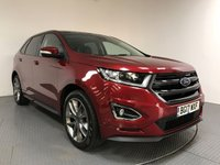 USED 2017 17 FORD EDGE 2.0 SPORT TDCI 5d AUTO 207 BHP FORD HISTORY - 1 OWNER - SAT NAV - PAN ROOF - CAMERA - PARKING SENSORS - AIR CON - BLUETOOTH - DAB - 20' ALLOYS