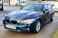 USED 2012 12 BMW 1 SERIES 2.0 120D SE 5d 181 BHP BLUETOOTH AUX AND USB CONNECT, PARKING SENSORS, ECO/SPORT MODE AND AUTO STOP/START FUNCTION