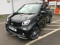 USED 2017 67 SMART FORFOUR 0.9 BRABUS XCLUSIVE 5d 108 BHP PAN ROOF, FULL LEATHER