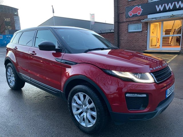 USED 2015 65 LAND ROVER RANGE ROVER EVOQUE 2.0 ED4 SE TECH 5d 148 BHP SERVICE HISTORY, ALLOY WHEELS, CRUISE CONTROL, LEATHER INTERIOR, CLIMATE CONTROL, SATELLITE NAVIGATION