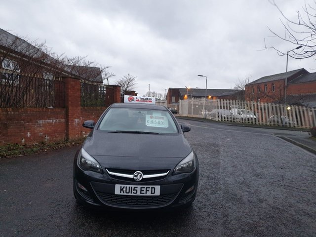 USED 2015 15 VAUXHALL ASTRA 1.6 DESIGN CDTI ECOFLEX S/S 5d 108 BHP A GREAT ECONOMICAL VEHICLE