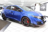USED 2016 66 HONDA CIVIC 2.0 I-VTEC TYPE R GT 306 BHP 1 LADY OWNER SAT NAV CAM FHSH!