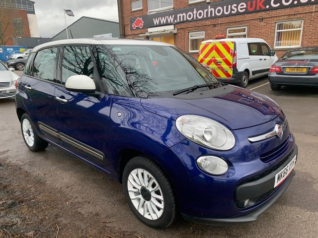 USED 2016 66 FIAT 500L 1.2 MULTIJET LOUNGE DUALOGIC 5d 95 BHP RARE AUTOMATIC, £20 A YEAR ROAD TAX, ELECTRIC WINDOWS, CLIMATE CONTROL