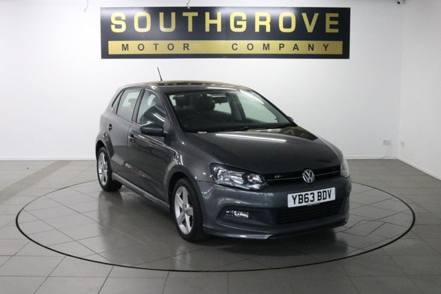USED 2013 63 VOLKSWAGEN POLO 1.2 R-LINE STYLE 5d 69 BHP
