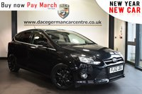 """USED 2012 62 FORD FOCUS 1.6 ZETEC ECONETIC TDCI 5DR 104 BHP Finished in a stunning black styled with 16"""" alloys. Upon opening the drivers door you are presented with cloth upholstery, full service history, bluetooth, cruise control, DAB radio, sport seats, multi functional steering wheel, auto stop/start function, air conditioning"""