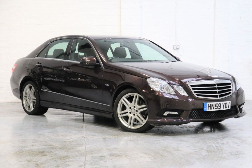 USED 2009 T MERCEDES-BENZ E-CLASS 3.0 E350 CDI BLUEEFFICIENCY SPORT 4d 231 BHP Satnav + Parking Aid + Cruise + Leather