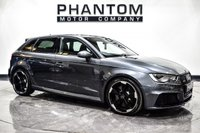 USED 2015 03 AUDI A3 2.5 RS3 SPORTBACK QUATTRO 5d 362 BHP