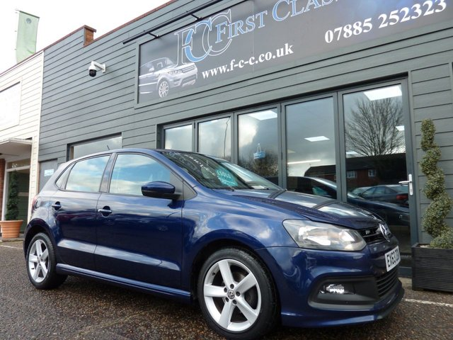 2013 63 VOLKSWAGEN POLO 1.2 R-LINE STYLE AC 5d 69 BHP