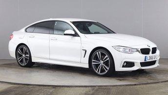 2016 BMW 4 SERIES 2.0 420D M SPORT GRAN COUPE 4d 188 BHP £18490.00