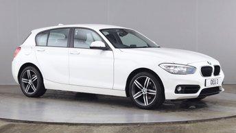 2017 BMW 1 SERIES 2.0 118D SPORT 5d 147 BHP £11990.00