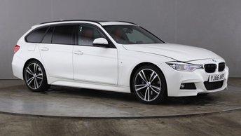 2017 BMW 3 SERIES 2.0 320D M SPORT TOURING 5d 188 BHP £18290.00