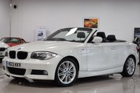 USED 2013 13 BMW 1 SERIES 2.0 118D M SPORT 2d AUTO 141 BHP Full Service History With 5 BMW Stamps And New MOT