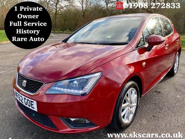 2012 62 SEAT IBIZA 1.2 TSI SE DSG 5d 104 BHP