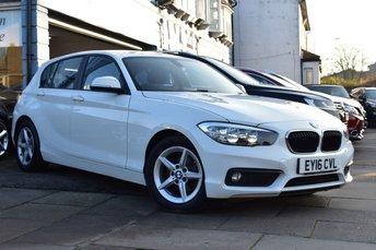 2016 BMW 1 SERIES 1.5 116D ED PLUS 5d 114 BHP £10499.00