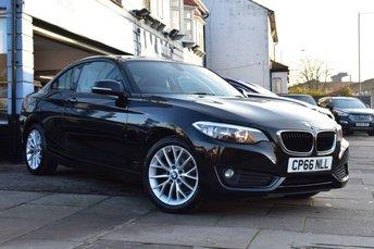 2016 BMW 2 SERIES 1.5 218I SE 2d 134 BHP £12499.00