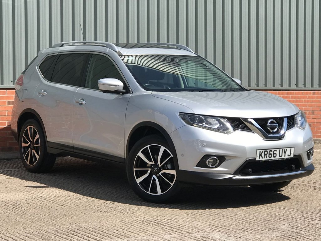 USED 2016 66 NISSAN X-TRAIL 1.6 DCI TEKNA 5d 130 BHP EXCELLENT CONDITION AND FANTASTIC VALUE