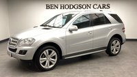 USED 2010 10 MERCEDES-BENZ M CLASS 3.0 ML300 CDI BLUEEFFICIENCY SPORT 5d 188 BHP Park! 1/2 leather! heated seats!