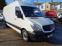 USED 2014 14 MERCEDES-BENZ SPRINTER 313 CDi LWB High roof *ONLY 22000 MILES* ONE OWNER - 22000 MILES - SERVICE HISTORY