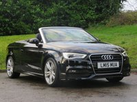 USED 2015 15 AUDI A3 1.4 TFSI S LINE 2d 148 BHP LOW MILEAGE WITH FULL HISTORY!