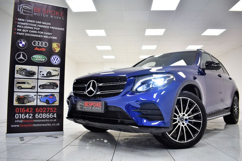 USED 2018 18 MERCEDES-BENZ GLC-CLASS 220D 2.1 4MATIC AMG LINE