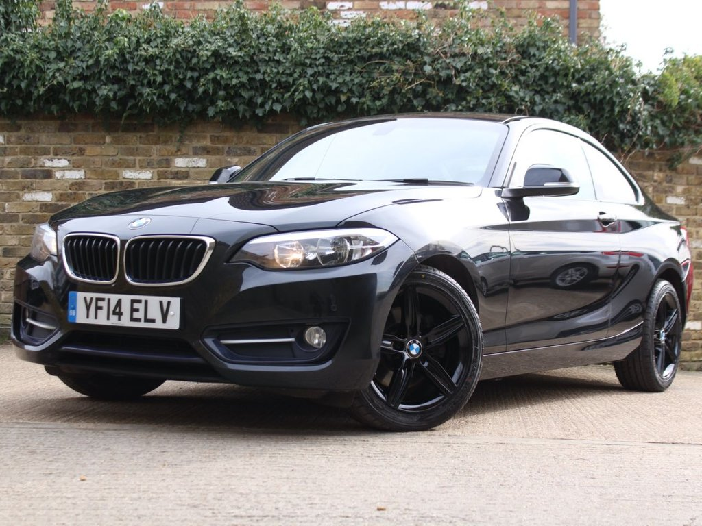 USED 2014 14 BMW 2 SERIES 2.0 220d Sport (s/s) 2dr