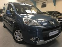 USED 2009 59 PEUGEOT PARTNER 1.6 TEPEE S HDI 5d 90 BHP * Wheelchair Access *