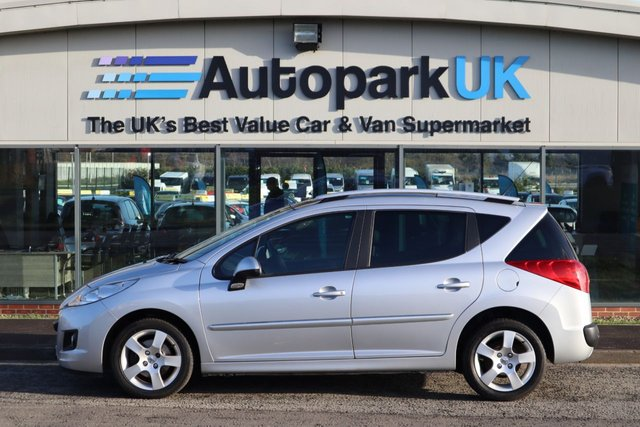 USED 2012 62 PEUGEOT 207 1.6 HDI SW ALLURE 5d 92 BHP LOW DEPOSIT OR NO DEPOSIT FINANCE AVAILABLE